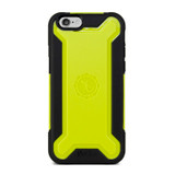 Ultra Tough Armour Case for iPhone 6/6s - Black/Citron