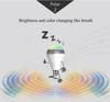 Smart LED bulb with speaker