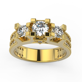 Jewellery BridalJewellery Engagement RingsJewellery Bridal Engagement RingsJewellery Engagement Rings Solitaire Tri Diamonds