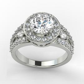 Jewellery BridalJewellery Engagement Rings Single Row Halo RingsJewellery Bridal Engagement Rings Single Row Halo Rings