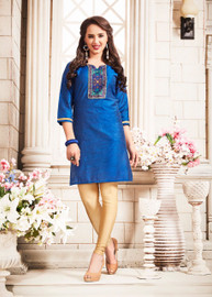 Womens wearWomens wear Kurtis (Mini. Order 4)Womens wear Kurtis (Mini. Order 4) Cotton Silk