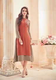 Womens wear Kurtis (Mini. Order 4)Womens wear Kurtis (Mini. Order 4) GeorgetteShop by Series Series 12
