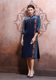 Womens wear Kurtis (Mini. Order 4)Shop by Series Series 12Womens wear Kurtis (Mini. Order 4) Rayon Cotton