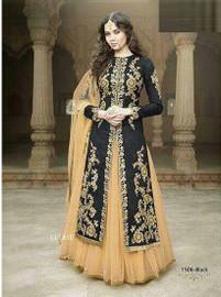 Womens wearWomens wear Indo West Long DressesWomens wear SalwarShop by Series Series 6Womens wear Salwar Designer Suit - Floor length