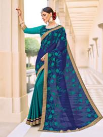 Womens wearWomens wear SareesShop by Series Series 9Womens wear Sarees Chiffon & Jacquard Silk