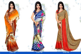 Womens wearWomens wear SareesWomens wear Sarees GeorgetteShop by Series Series 18