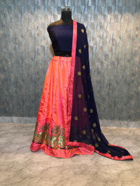 Womens wearWomens wear LehengaWomens wear Lehenga Paper Silk