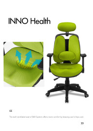 Ergonomic chair INNO Health (Home or Office user) - PN 9011