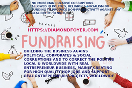 DONATE - USING THE POLITICAL ANGLE AND CREATE JOBS THROUGH REAL ENTREPRENUER