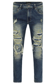DISTRESSED SKINNY JEANS  PN - 10009  - MADE IN US