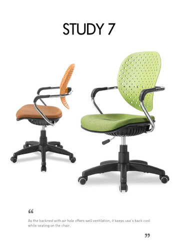 Ergonomic chair STUDY 7 (Home or Office user) - PN 9024