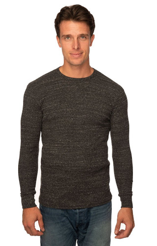 Unisex eco Triblend Heavyweight Thermal - PN 34152 - MADE IN US - 50% RPET polyester 37% Organic cotton 13% rayon