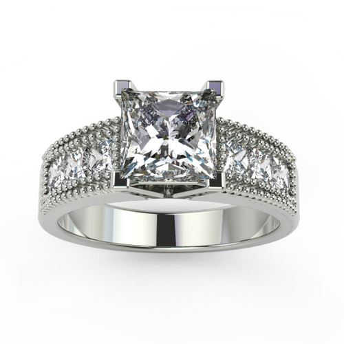 Jewellery BridalJewellery Engagement RingsJewellery Bridal Engagement RingsJewellery Engagement Rings Center and Side Diamonds