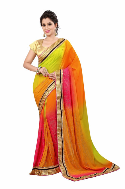 Womens wear Sarees Silk Sarees Georgette SilkShop by Series Series 2