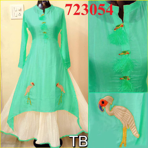 Womens wearWomens wear Indo West Long DressesWomens wear Indo West Long Dresses Silk