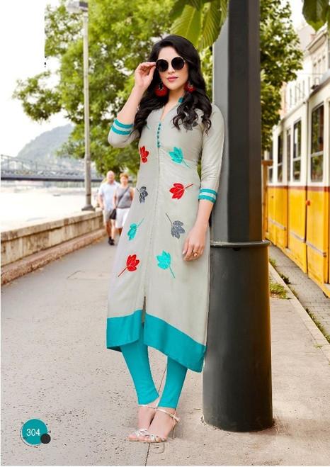 Womens wear Kurtis (Mini. Order 4)Shop by Series Series 12Womens wear Kurtis (Mini. Order 4) Rayon Prints Casual