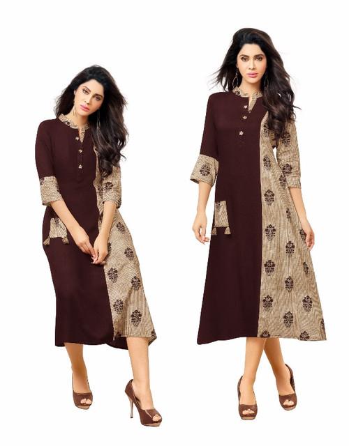Womens wear Kurtis (Mini. Order 4)Shop by Series Series 12Womens wear Kurtis (Mini. Order 4) Cotton Printed