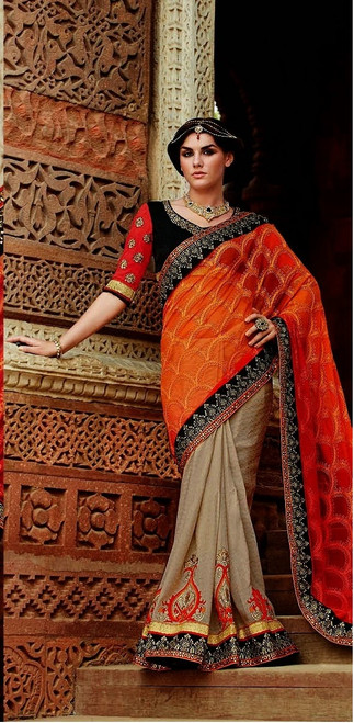 Womens wearWomens wear SareesShop by Series Series 9Womens wear Sarees Net Jacquard & Georgette