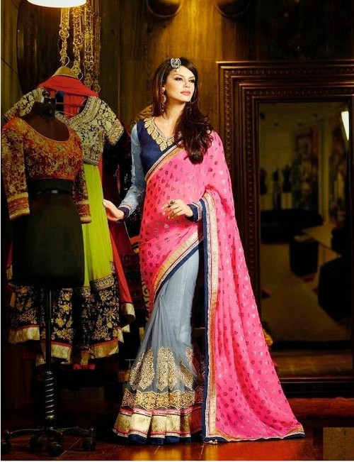 Womens wearWomens wear SareesShop by Series Series 9Womens wear Sarees Georgette & Net