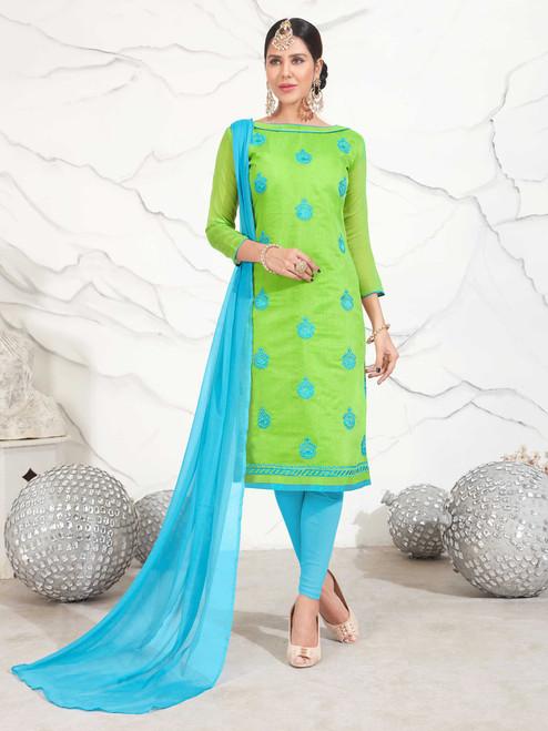Womens wearWomens wear Dress MaterialWomens wear Dress Material Chanderi Cotton