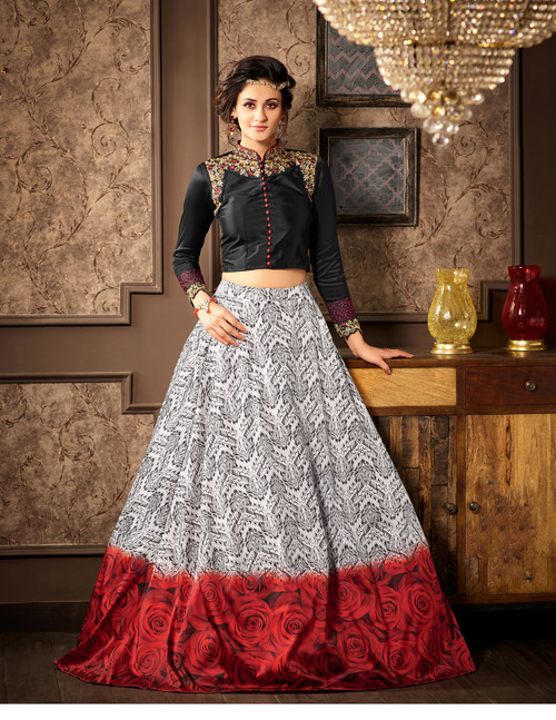 Womens wearShop by Series Series 9Womens wear LehengaWomens wear Lehenga Georgette & Art Silk