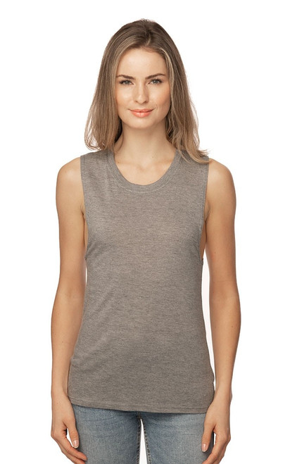 Women's Viscose Bamboo & Organic Cotton Muscle - PN 73126  - MADE IN US - 70% Viscose Bamboo 30% Organic cotton