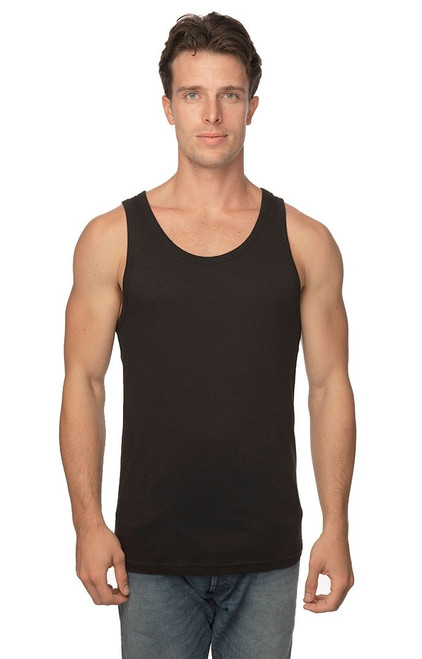 Unisex Viscose Bamboo & Organic Cotton Tank Top - PN 73058 - MADE IN US - 70% Viscose Bamboo 30% Organic Cotton