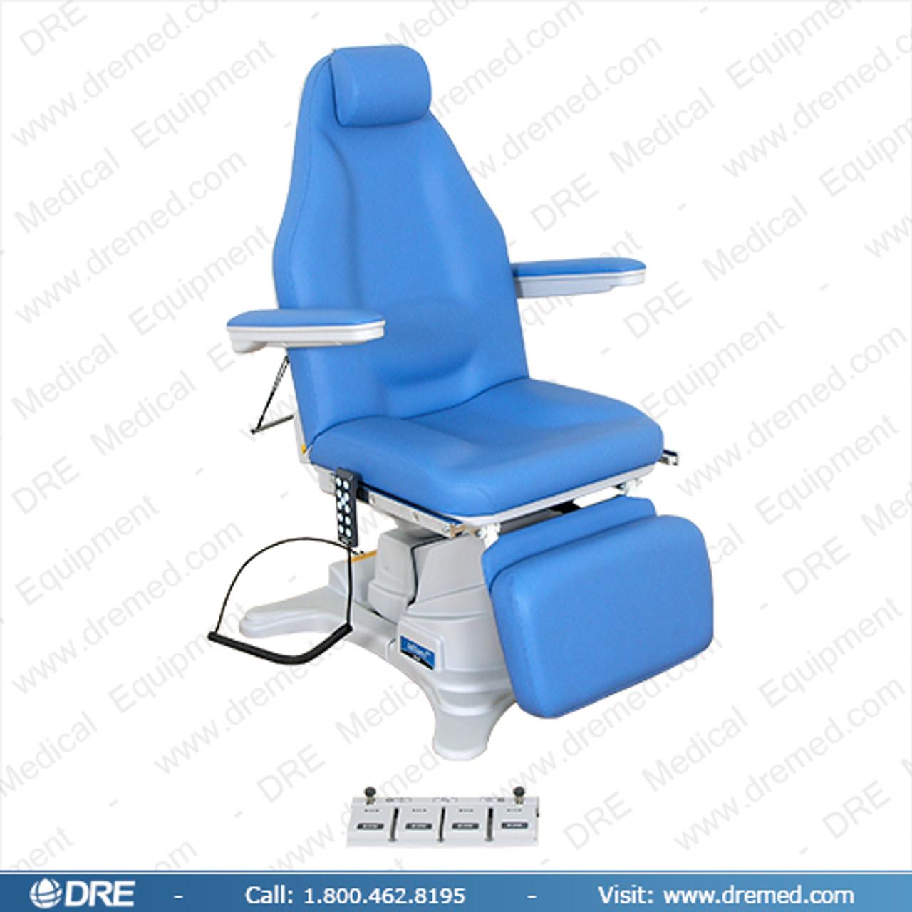 DRE Milano E20 Power Procedure Chair/Black Color