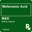 Mefenamic Acid M&D 500mg 1 Capsule