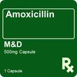 Amoxicillin M&D 500mg 1 Capsule
