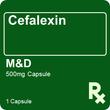 Cefalexin M&D 500MG 1 Capsule
