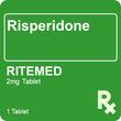 Risperidone RiteMed 2mg 1 Tablet