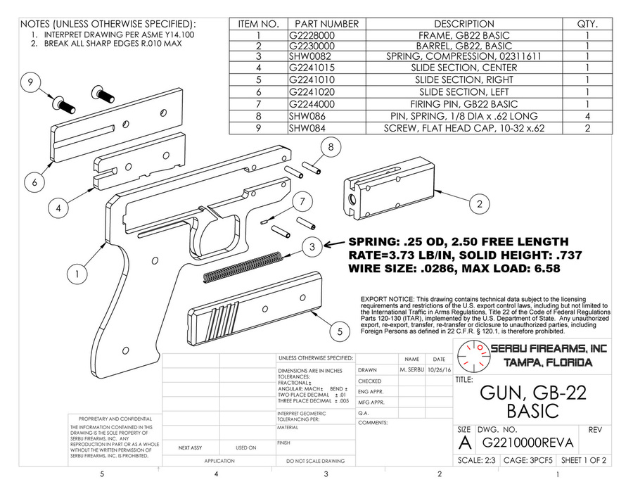 GB-22 Plans