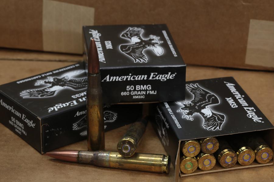 660 FMJ .50 BMG Ammo