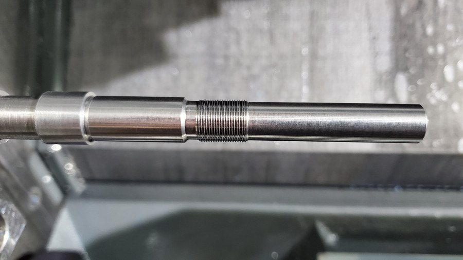 Beretta AR-70/90 barrel, made from chrome moly alloy steel, button rifled.  Chambered in 5.56x45mm, parkerized finish.  Machined in-house on our own CNC machines.