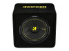 Kicker 12 inch CompC 4 Ohm Single Subwoofer Enclosure