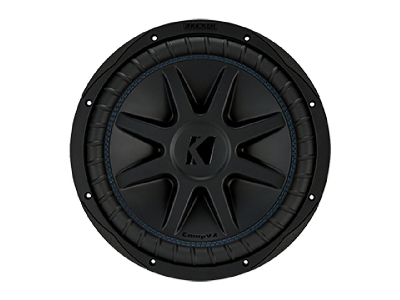 34d6fc3956c2 Kicker Comp VX 12 inch Car Audio Subwoofer Dual 4 Ohm Sub - 44CVX124