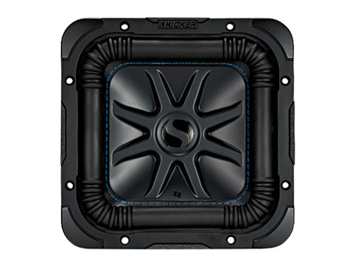 kicker 10 Inch Solo-Baric L7S Car, Marine Subwoofer 4 Ohm