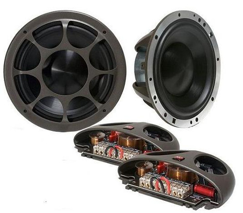 Morel Elate Titanium 502 Morel Elate 2 Way 3 Way Car Component Speaker System
