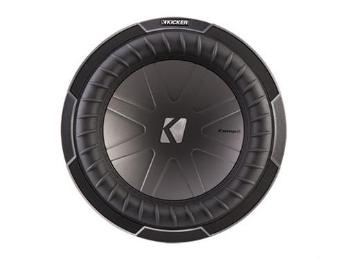 Kicker CompQ 12 inch Subwoofer- Dual Voice Coil 2 Ohm - 42CWQ122
