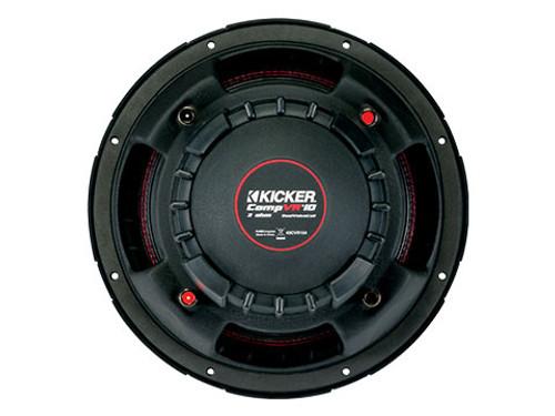Kicker CompVR 10 Dual Voice Coil 4 Ohm Subwoofer - 43CVR104