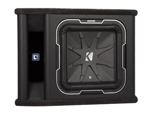 Kicker 12 L7 2 Ohm Loaded Enclosure - 41TL7122