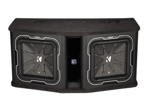 Kicker Dual L7 12 Loaded Enclosure Subwoofers - 41DL7122