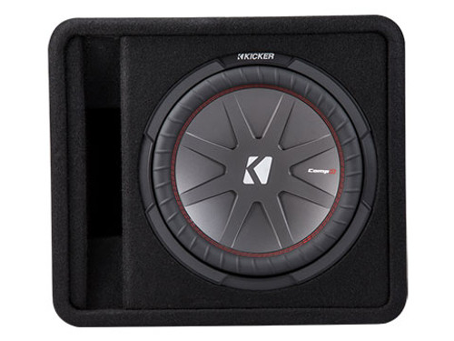 Kicker Comp R 12 Inch 2 Ohm Subwoofer Enclosure Box