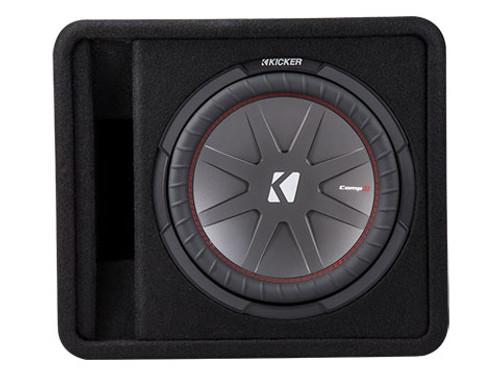 Kicker Comp R 12 Inch 2 Ohm Subwoofer Enclosure Box