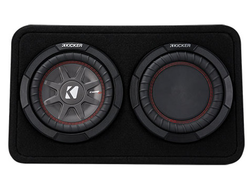Kicker CompRT 8 Inch 2 Ohm Subwoofer Enclosure