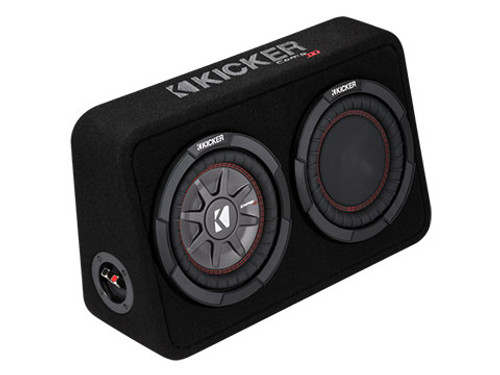 Kicker CompRT 8 Inch 4 Ohm Subwoofer Enclosure