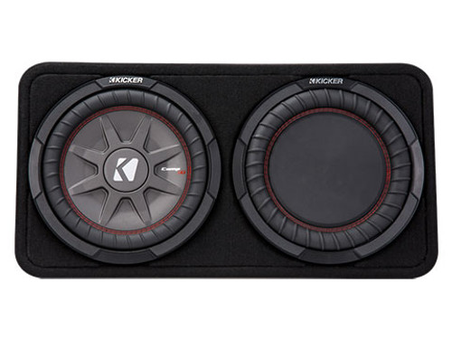 Kicker CompRT 10 Inch 4 Ohm Subwoofer Enclosure Box
