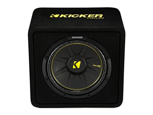Kicker 12 inch CompC 4 Ohm Single Subwoofer Enclosure