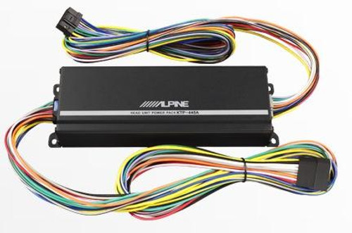 Alpine Head Unit Power Pack Amplifier KTP-445A